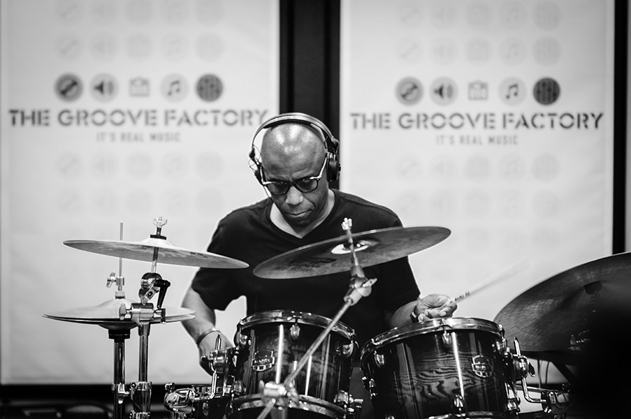 Derrick McKenzie - Drums Masterclass at Groove Factory, Italy